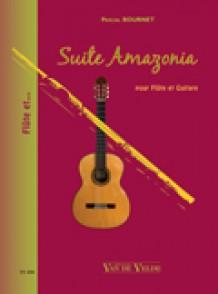 BOURNET P. SUITE AMAZONIA FLUTE GUITARE