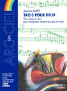 RUEFF J. TROIS POUR DEUX SAXO MIB