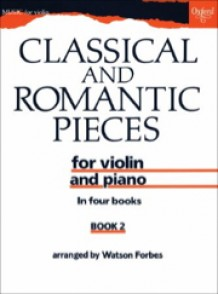 CLASSICAL AND ROMANTIC PIECES VOL 2 VIOLON