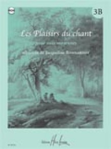 BONNARDOT J. LES PLAISIRS DU CHANT VOL 3B CHANT