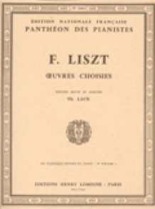 LISZT F. OEUVRES CHOISIES VOL 9A PIANO