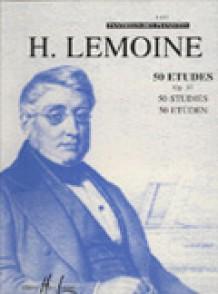 LEMOINE H. 50 ETUDES OP 37 PIANO