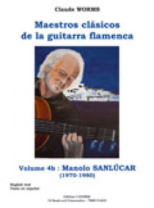 SANLUCAR MANOLO GUITARE FLAMENCA TABLATURE VOL 4B