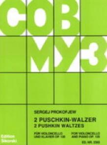 PROKOFIEV S. PUSCHKIN-WALZER OP 120 VIOLONCELLE