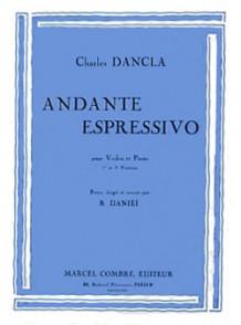 DANCLA C. ANDANTE ESPRESSIVO VIOLON