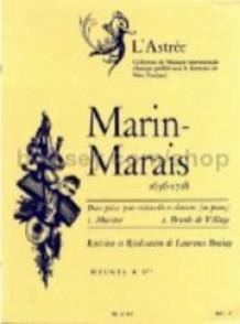 MARAIS MARIN BRANLE ET MUSETTE DE VILLAGE VIOLONCELLE