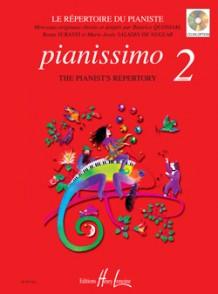 PIANISSIMO VOL 2 REPERTOIRE DU PIANISTE