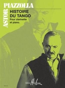 PIAZZOLLA A. HISTOIRE DU TANGO CLARINETTE