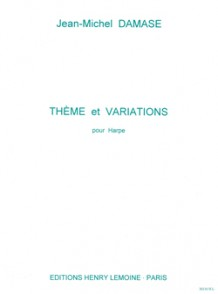 DAMASE J.M. THEME ET VARIATIONS HARPE