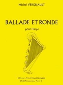 VERGNAULT M. BALLADE ET RONDE HARPE