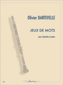DARTEVELLE O. JEUX DE MOTS CLARINETTE