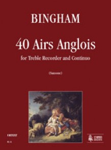 BINGHAM G. 40 AIRS ANGLOIS FLUTE A BEC