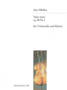 SIBELIUS J. VALSE TRISTE OP 44 N°1 VIOLONCELLE