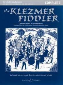 HUWS JONES E. THE KLEZMER FIDDLER VIOLON + CD