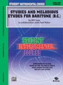 LAAS/WEBER STUDIES AND MELODIOUS ETUDES VOL 1 FOR BARITONE