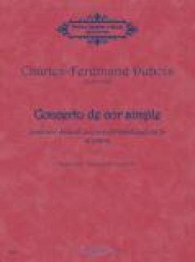 DUBOIS C.F. CONCERTO DE COR SIMPLE