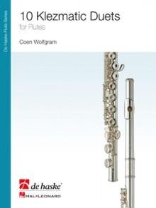 WOLFGRAM C. 10 KLEZMATIC DUETS FLUTES