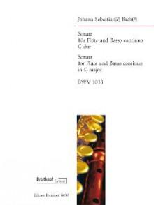 BACH J.S. SONATE BWV 1033 FLUTE