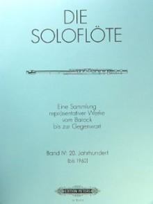 SOLO DE FLUTE VOL 4 20ME SIECLE FLUTE