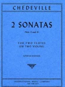 CHEDEVILLE E. PH. 2 SONATES 2 FLUTES