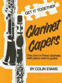 EVANS C. CLARINET CAPERS CLARINETTES
