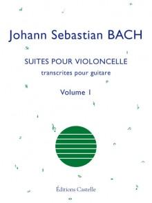BACH J.S. SUITES POUR VIOLONCELLE VOL 1 GUITARE