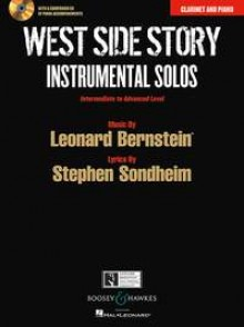 WEST SIDE STORY INSTRUMENTAL SOLOS CLARINETTE
