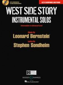 WEST SIDE STORY INSTRUMENTAL SOLOS SAXO ALTO