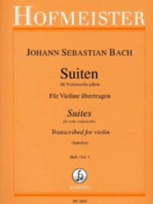 BACH J.S. 6 SUITES VOL 1 VIOLON