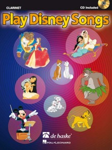 PLAY DISNEY SONGS CLARINETTE