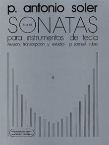 SOLER P.A. SONATAS VOL 4 PIANO