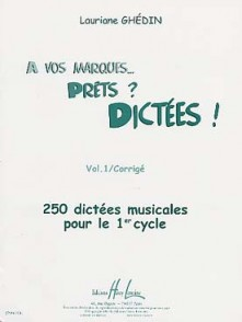 GHEDIN L. A VOS MARQUES... PRETS? DICTEES VOL 1 CORRIGES
