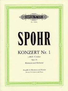 SPOHR L. CONCERTO N°1 OP 26 CLARINETTE PIANO