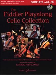 HUWS JONES E. THE FIDDLER PLAYALONG CELLO COLLECTION + CD