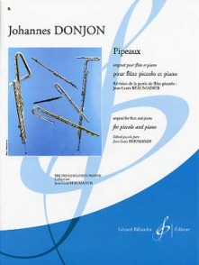 DONJON J. PIPEAUX FLUTE PICCOLO