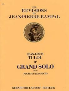 TULOU J.L. 3ME GRAND SOLO OP 74 FLUTE