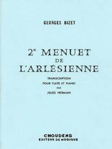 BIZET G. 2ME MENUET DE L'ARLESIENNE FLUTE