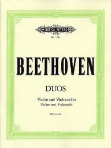 BEETHOVEN L.V. DUOS VIOLON VIOLONCELLE