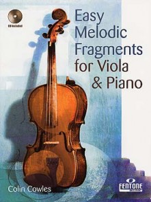 COWLES C. EASY MELODIC FRAGMENTS ALTO