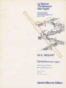MOZART W.A. CONCERTO SIB BASSON