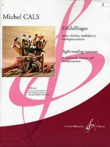 CALS M. DECHIFFRAGES VOL 2 PERCUSSION