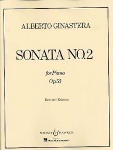 GINASTERA A. SONATA N°2 OP 53 PIANO
