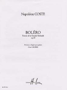 COSTE N. BOLERO OP 30 GUITARE