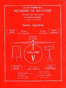 AGOSTINI DANTE METHODE DE BATTERIE VOL 5