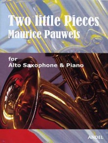 PAUWELS M. TWO LITTLE PIECES SAXO ALTO