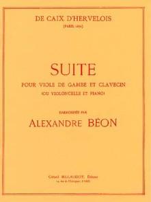 CAIX D'HERVELOIS L. SUITE EN RE VIOLONCELLE