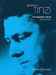 FINZI G. BAGATELLES OP 23 CLARINETTE