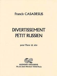 CASADESUS F. DIVERTISSEMENT PETIT RUSSIEN ALTO