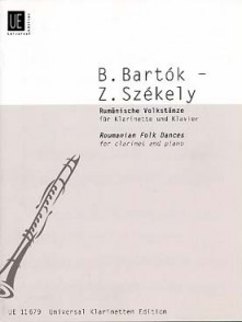 BARTOK B. DANSES ROUMAINES CLARINETTE