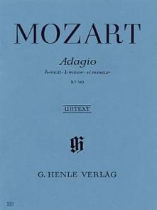 MOZART W.A. ADAGIO SI MINEUR PIANO